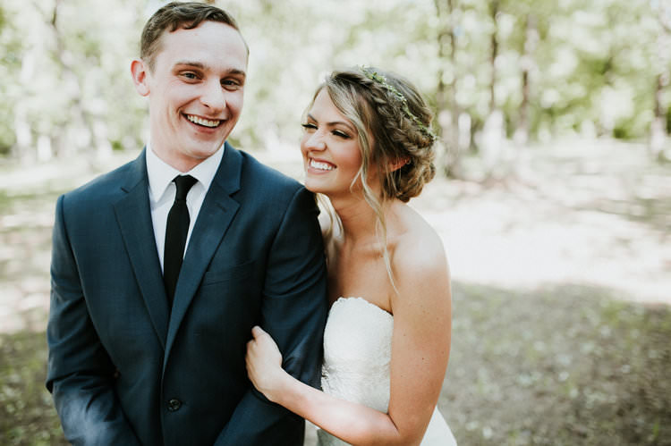 Outdoor Rustic Boho Forest First Look Bride Natural Updo Navy Groom Morning | Organic Earthy Fun Wedding Oklahoma http://zaynewilliams.com/