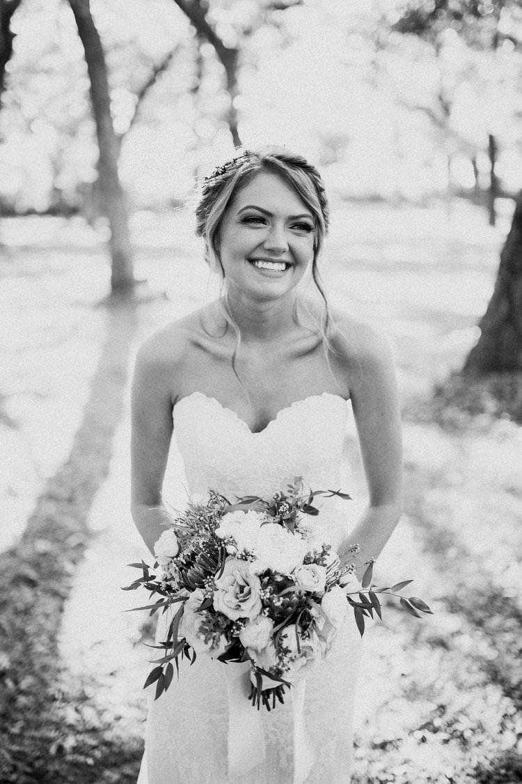 Outdoor Rustic Boho Forest Natural Sweetheart Bride Updo Romantic White Bouquet | Organic Earthy Fun Wedding Oklahoma http://zaynewilliams.com/