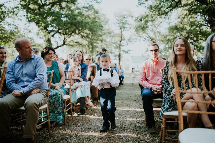 Outdoor Rustic Boho Forest Ceremony Page Boy Ring Bearer Navy Suit   Organic Earthy Fun Wedding Oklahoma http://zaynewilliams.com/
