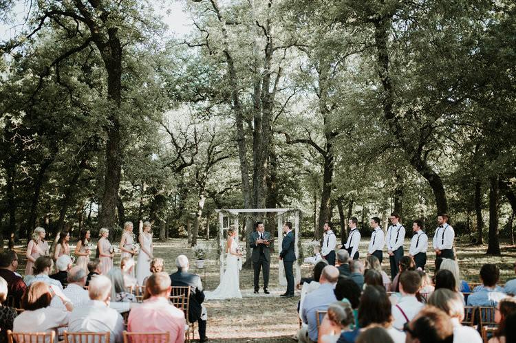 Outdoor Rustic Boho Forest Ceremony Backdrop Rug Vintage Door Window Foliage | Organic Earthy Fun Wedding Oklahoma http://zaynewilliams.com/