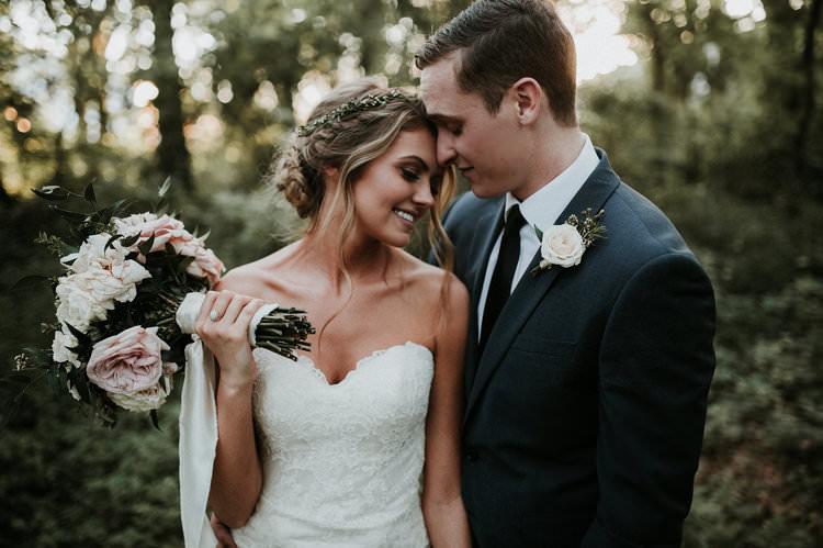 Outdoor Rustic Boho Forest Natural Sweetheart Updo Bride Groom Bouquet | Organic Earthy Fun Wedding Oklahoma http://zaynewilliams.com/