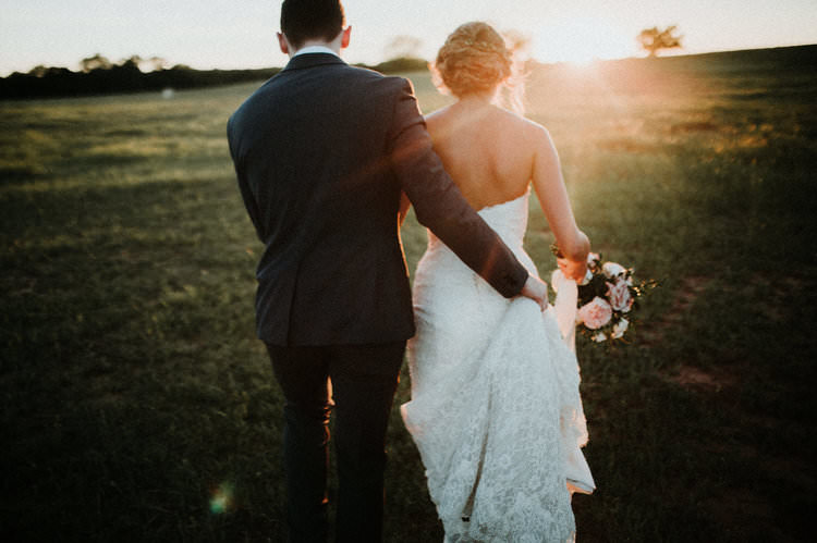 Outdoor Rustic Boho Forest Field Sun Natural Updo Bride Groom | Organic Earthy Fun Wedding Oklahoma http://zaynewilliams.com/