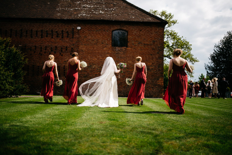 Red Rustic Spring Barn Wedding http://www.jennymacare.com/