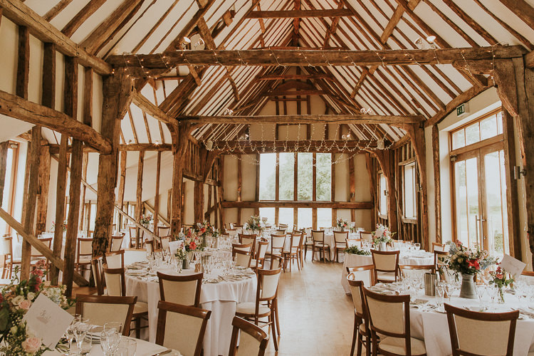 Easton Grange Rustic Greenery Dove Grey Country Barn Wedding http://jonnymp.com/