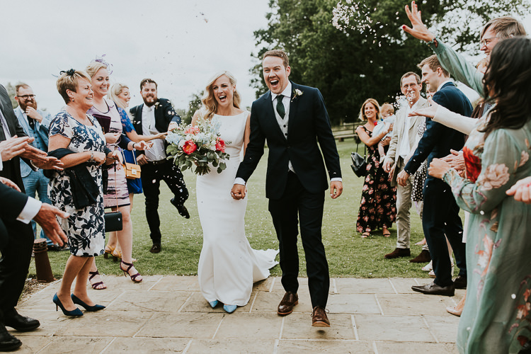Confetti Throw Rustic Greenery Dove Grey Country Barn Wedding http://jonnymp.com/