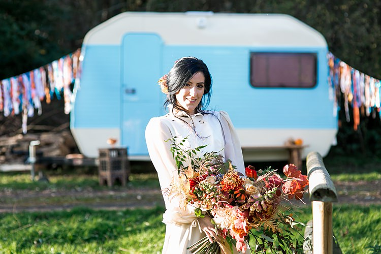 1970s Gypsy Bohemian Autumn Woodland Wedding Ideas http://carolineopacicphotography.com/