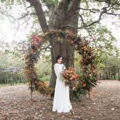 1970s Gypsy Bohemian Autumn Woodland Wedding Ideas