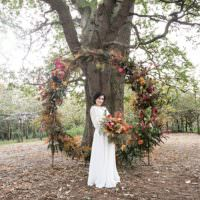 1970s Gypsy Bohemian Autumn Woodland Wedding Ideas http://carolineopacicphotography.com/