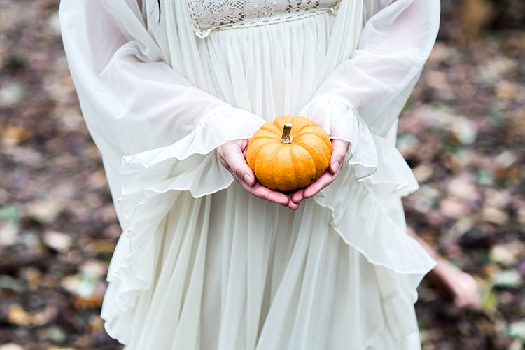 Pumpkins Decor 1970s Gypsy Bohemian Autumn Woodland Wedding Ideas http://carolineopacicphotography.com/
