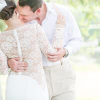Bright Coral Garden Wedding New Jersey http://somethingbluenj.com/