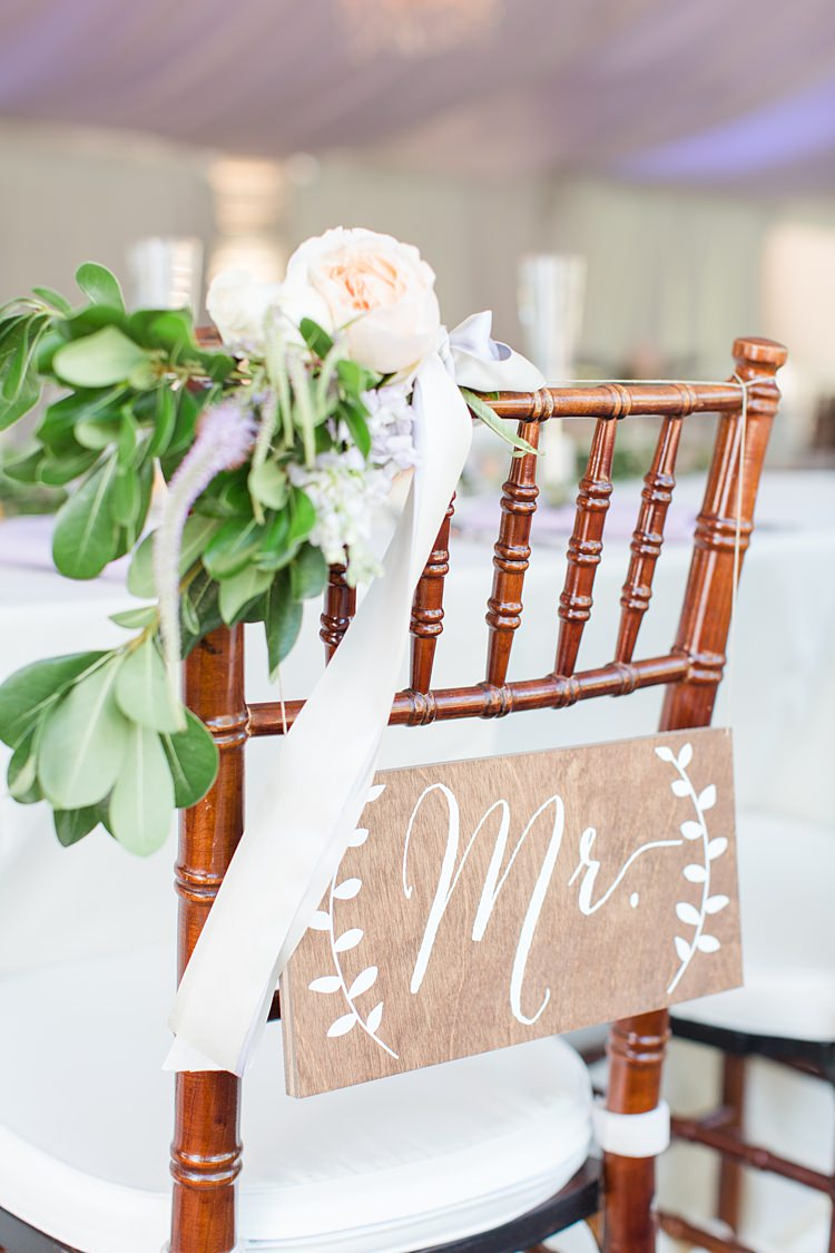 Chair Mr Flowers Decor Bright Coral Garden Wedding New Jersey http://somethingbluenj.com/