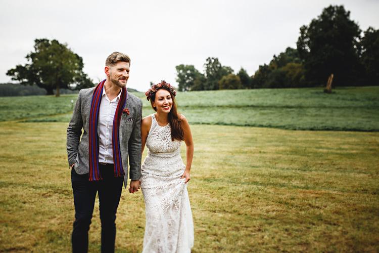 Cosy Autumn Woodland Tipi Wedding Ideas http://hbaphotography.com/