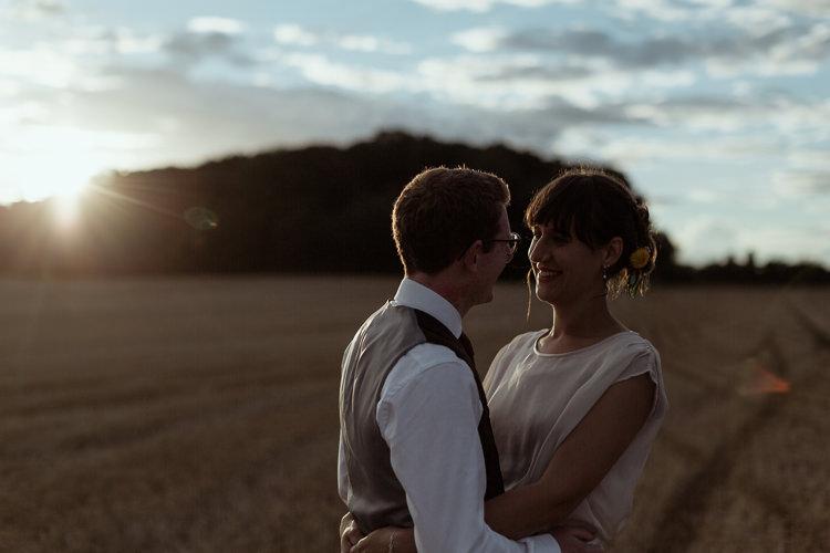 Bespoke Bride Waisted Belt Tweed Groom Waistcoat Chinos Magical Woodland Clearing Colourful Tipis Wedding https://www.lukebellphotography.co.uk/