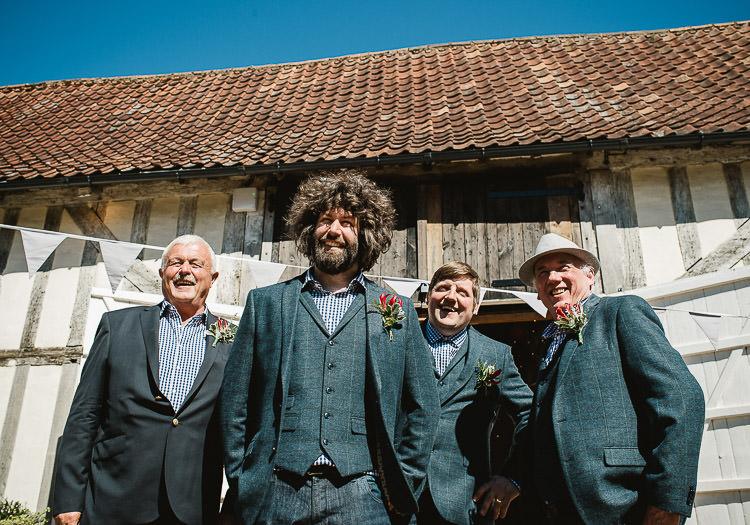 Check Suit Shirts Groom Groomsmen Super Cool Informal Party Wedding http://www.luisholden.com/