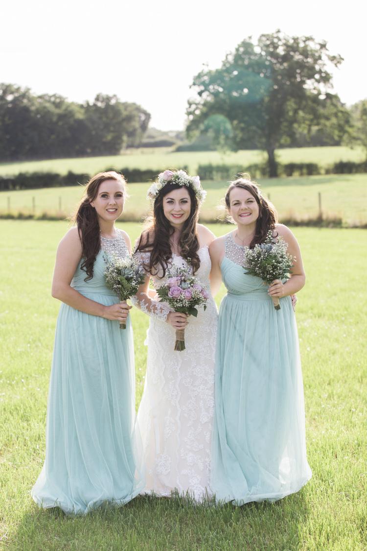 Long Mint Bridesmaid Dresses Unique Country Farm Tipi Wedding http://www.nataliedphotography.com/