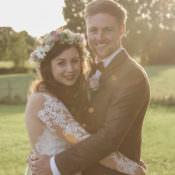 Unique Country Farm Tipi Wedding