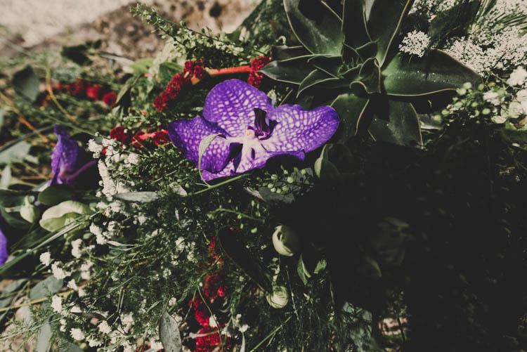 Rose Gold Sequins Greenery Musical Wedding https://www.jademaguirephotography.uk/