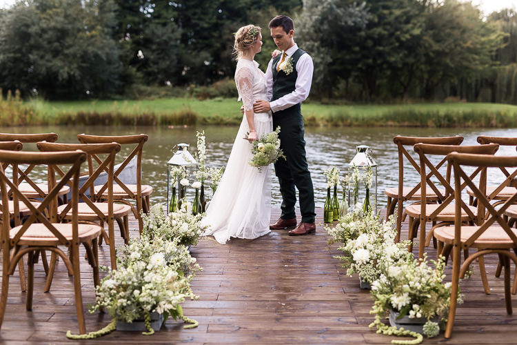 Aisle Flowers Crates Decor Ceremony Chairs Organic Rustic Greenery Wedding Ideas http://sarahbrookesphotography.com/