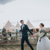 Happy Crafty Summer Farm Wedding