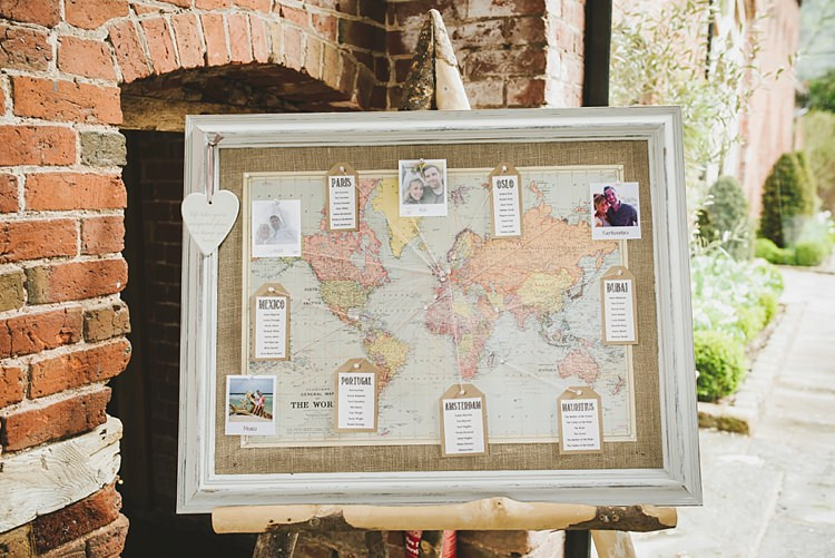 Map Seating Plan Table Chart Untraditional Pretty Travel Barn Wedding https://www.georgimabee.com/
