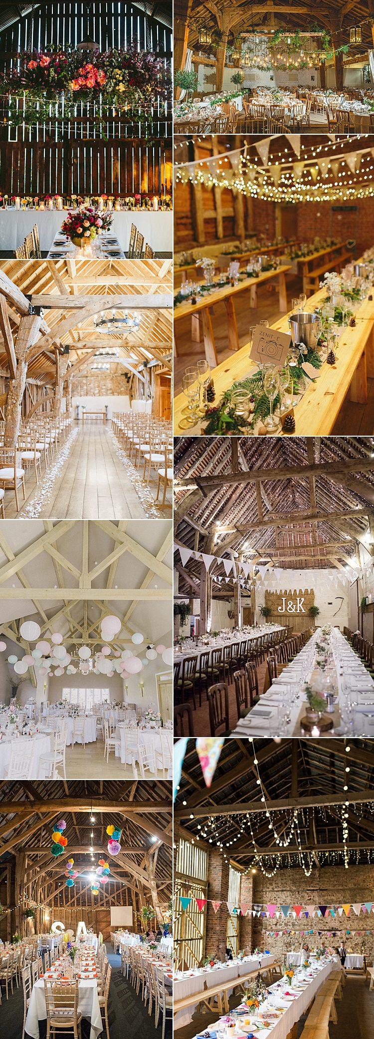 Barn Weddings Ideas Inspiration UK Decoration