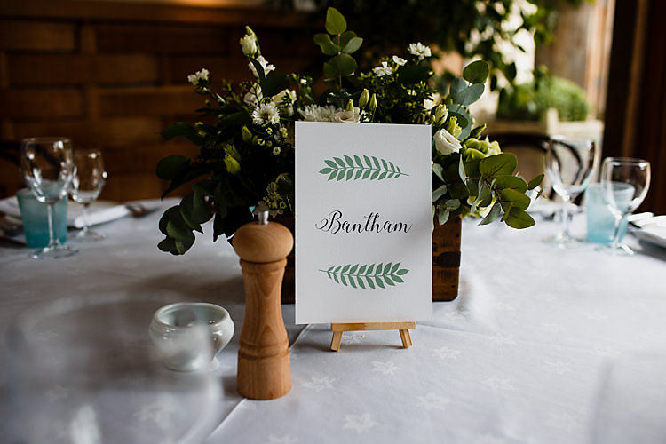Table Name Stationery Chic Country Cotswolds Barn Wedding http://annabphotography.co.uk/