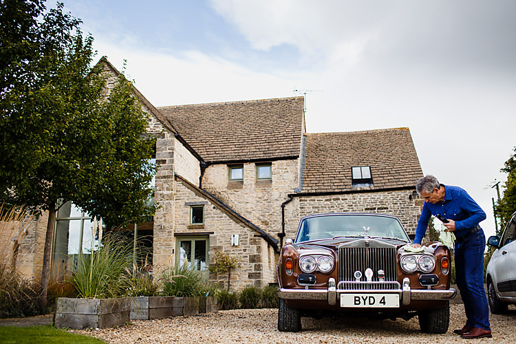 Transport Car Chic Country Cotswolds Barn Wedding http://annabphotography.co.uk/