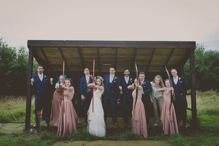 Archery Bohemian Ethical Vegan Country Wedding http://laurarhianphotography.co.uk/