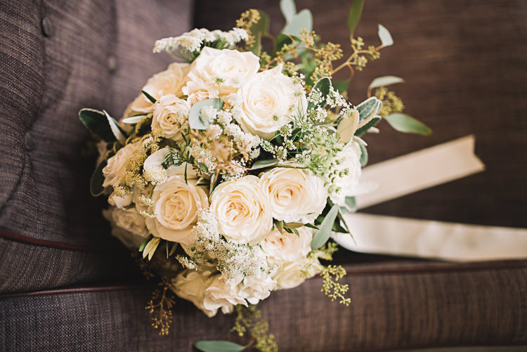 White Cream Rose Bouquet Flowers Bride Bridal Tropical Boho Luxe Barn Wedding https://www.luciewatsonphotography.com/