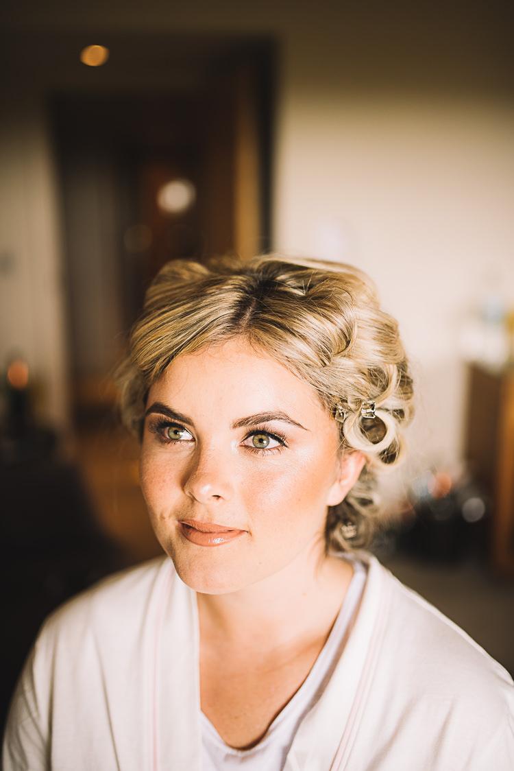 Make Up Beauty Bride Bridal Tropical Boho Luxe Barn Wedding https://www.luciewatsonphotography.com/