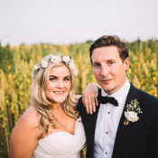 Tropical Boho Luxe Barn Wedding