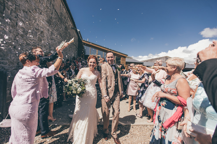 Confetti Throw Natural Earthy Greenery Home Made Wedding http://rachellambertphotography.co.uk/