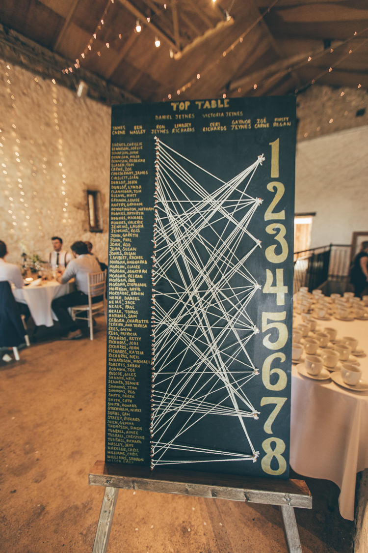 String Art Seating Chart Table Plan Twine Peg Natural Earthy Greenery Home Made Wedding http://rachellambertphotography.co.uk/