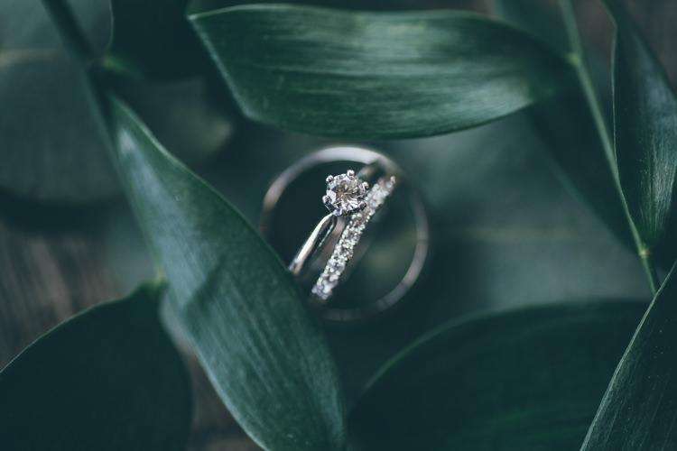 Engagement Ring Eternity Diamond Bride Natural Earthy Greenery Home Made Wedding http://rachellambertphotography.co.uk/