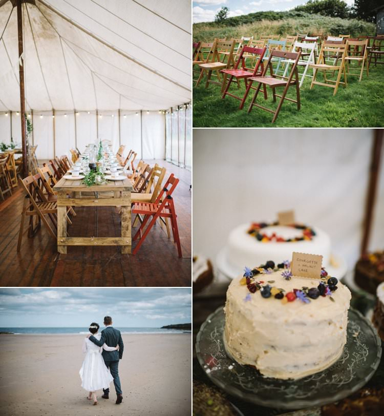 Vintage Log Cabin Wedding Overlooking The Sea http://www.lisadevinephotography.co.uk/