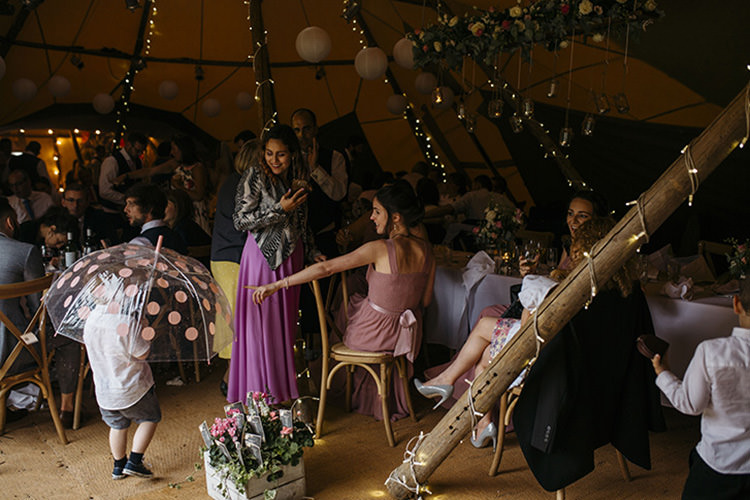 Pretty Floral Boho Tipi Wedding https://www.kindredphotography.co.uk/