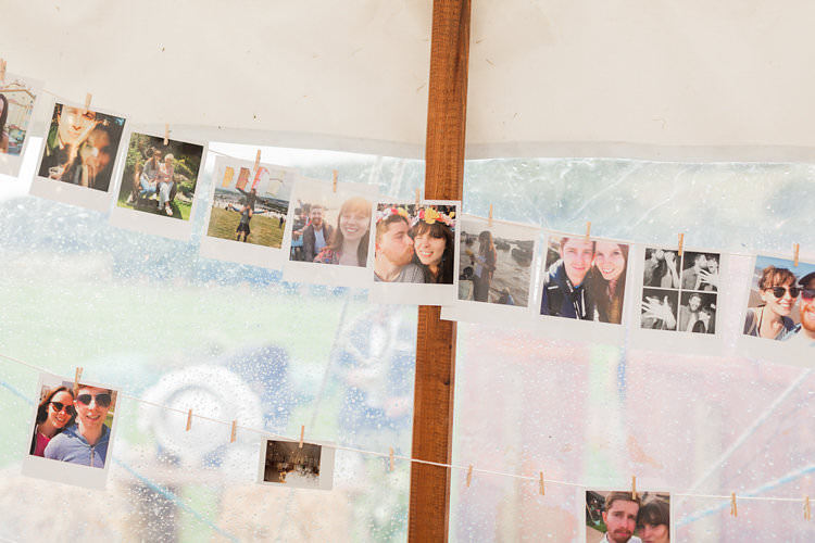 Photo Wall Fun Late Summer Outdoor Farm Wedding http://bowtieandbellephotography.co.uk/