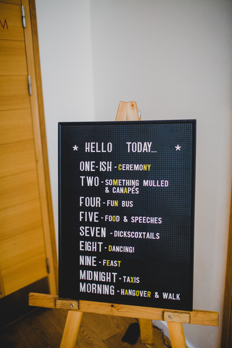 Peg Board Sign Christmas Wedding Cotswolds http://jonnymp.com/