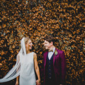 A Festive Christmas Wedding in the Cotswolds