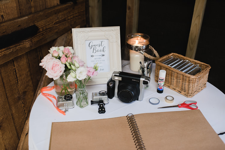 Guest Book Polaroid Personal Homegrown Country Farm Wedding https://www.emmahare.com/