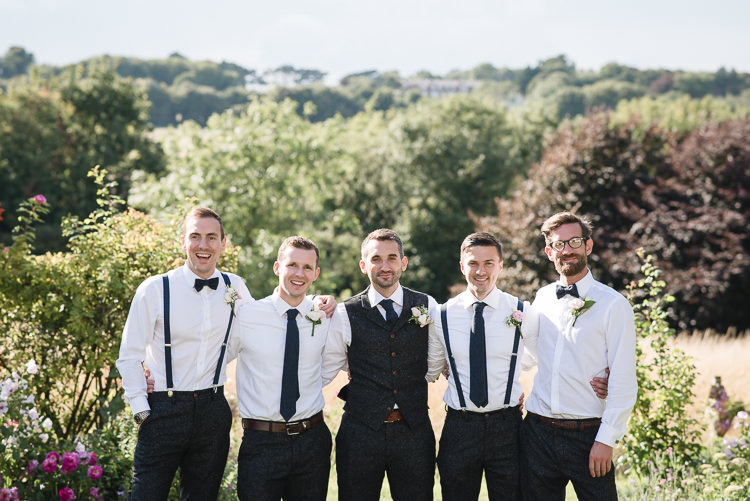 Groomsmen Groom Waistcoat Braces Bow Tie Personal Homegrown Country Farm Wedding https://www.emmahare.com/
