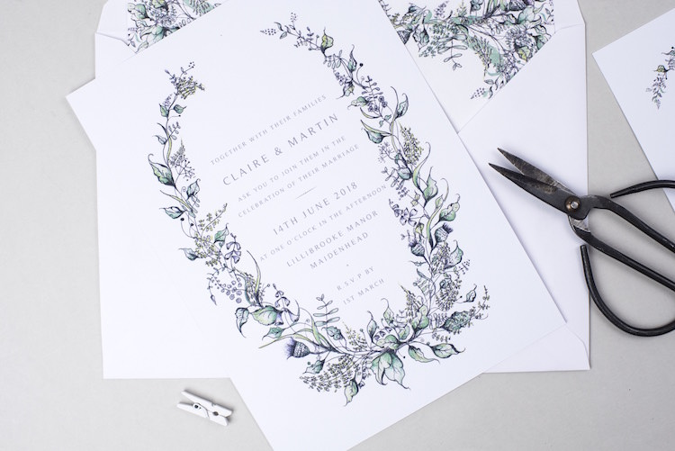 Rose and Beau Wedding Stationery Invitations UK Wedding Supplier Directory