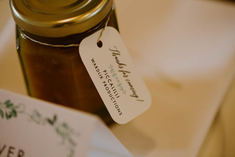 Chutney Favours Unconventional Country Cotswolds Barn Wedding http://www.alexandrajane.co.uk/