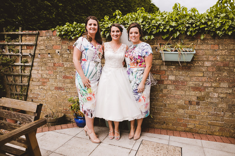 Floral Bridesmaid Dresses Brightly Coloured Mismatched Marquee Wedding http://www.nicolacasey.photography/