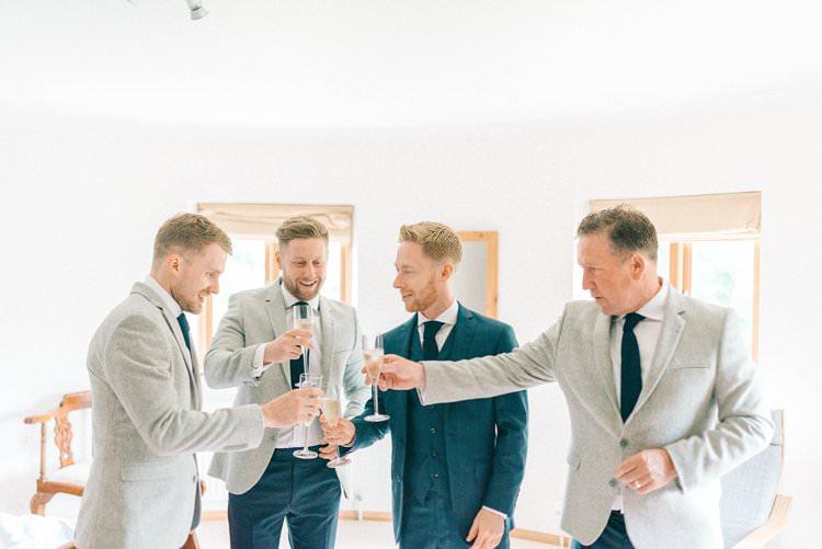 Groomsmen Jackets Navy Grey Rustic Summer Country DIY Barn Wedding http://sarahjaneethan.co.uk/
