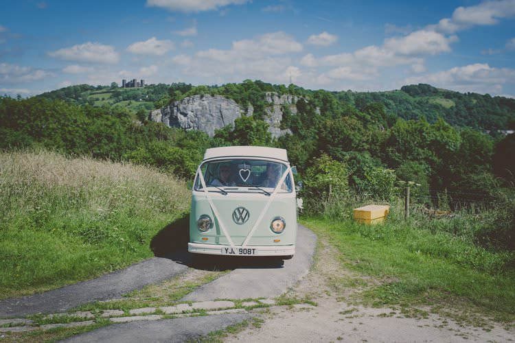 VW Camper Van Quirky Afternoon Tea Wedding http://laurarhianphotography.co.uk/