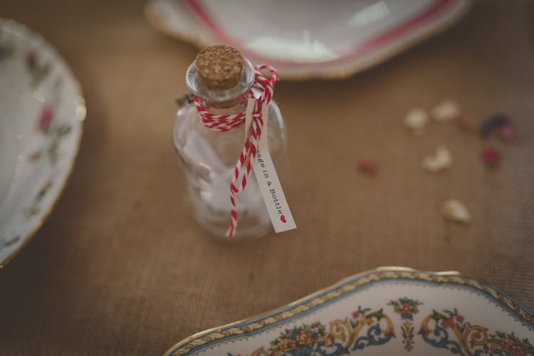 Message Bottle Guest Book Quirky Afternoon Tea Wedding http://laurarhianphotography.co.uk/