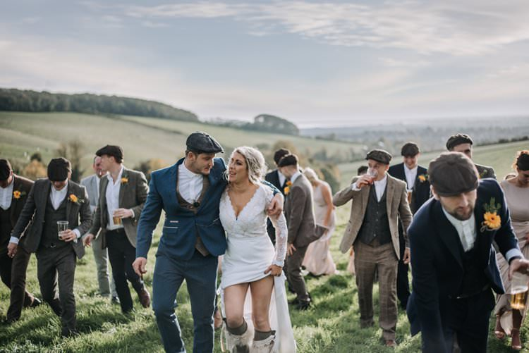 Rustic Peaky Blinders Vineyard Wedding Yorkshire https://www.kazooieloki.co.uk/