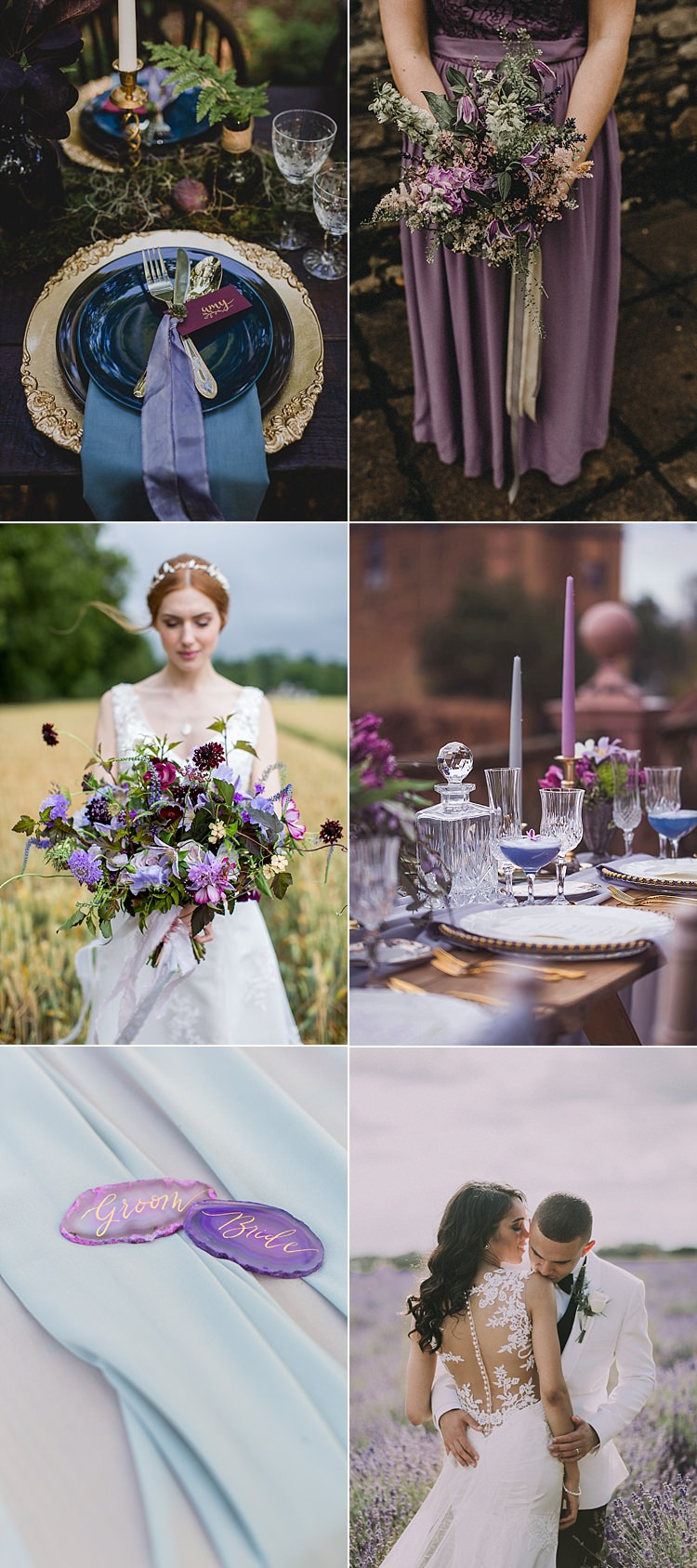 Ultra Violet Wedding Pantone Colour 2018