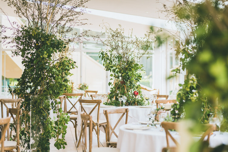 Large Tree Tipi Greenery Flowers Centrepiece Natural Soft Outdoors In Wedding Ideas https://www.lewisfackrell.co.uk/